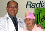 Radiation Oncology Patient Celebrates 100th Birthday